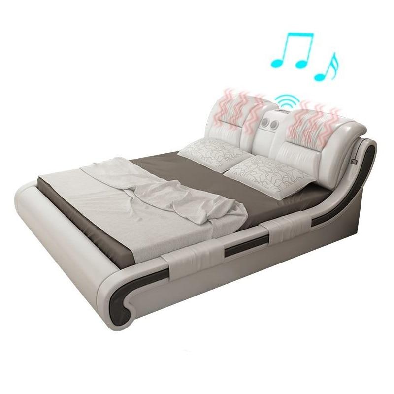 Set Tempat Tidur Tingkat Frame Quarto Modern Bedroom Furniture Kids Meuble Maison Leather De Dormitorio Mueble Cama Moderna Bed