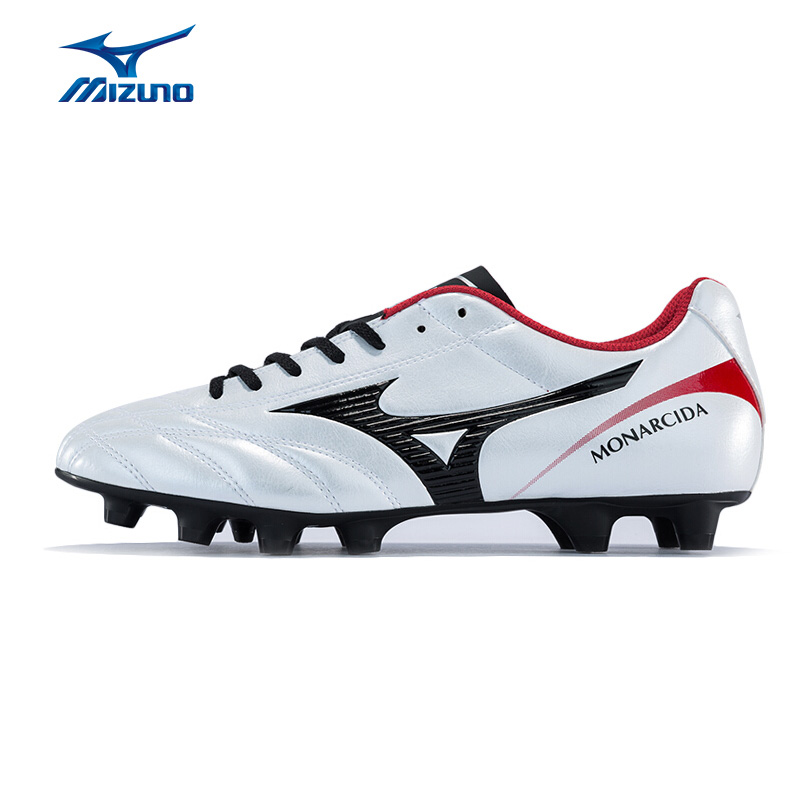 MIZUNO Men MONARCIDA 2 FS MD Soccer Shoes Sports Shoes Comfortable Wearable Sneakers P1GA172309 YXZ060 mizuno men s sports beathable cushioning soccer shoes monarcida fs as light sport shoes sneakers p1gd152301 yxz003
