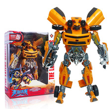 New Fashion Deformation Toy Robot Car Wasp Robot Toy Children DIY Educational Toys Gift Ideas Change Children Boy Gifts deformation toys king kong 4 league level ground lamp robot car model children toy boy gifts
