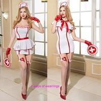 Adult Women Sexy Doctor Nurse Sexy Costume Hot Erotic Game Cosplay Nurse Uniform Sex Products Porno Dress Underwear