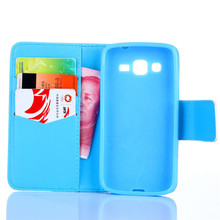High Quality wallet stand Leather Case For Samsung Galaxy Avant G386T