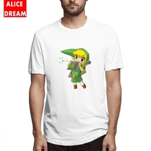 The Legend Of Zelda T shirt Game Time Shirt Casual Short Sleeve Organic Cotton S-6XL Camiseta New Arrival Hot sale