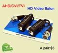 5 Pairs AHD/CVI/TVI Coaxial HD Torcida BNC Para UTP Cat5/5e/6 Transmissor FreeShipping