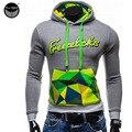 2017 Hoodies Men Sudaderas Hombre Hip Hop Mens Brand Hedging Letters Spell Color Hoodie Sweatshirt Suit Slim Fit Men Hoody