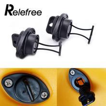 Relefree 1 шт. портативный Каяк сливной Разъем набор вилки затычки резьба для шлюпки, байдарки каноэ лодка PP рыбы Универсальный