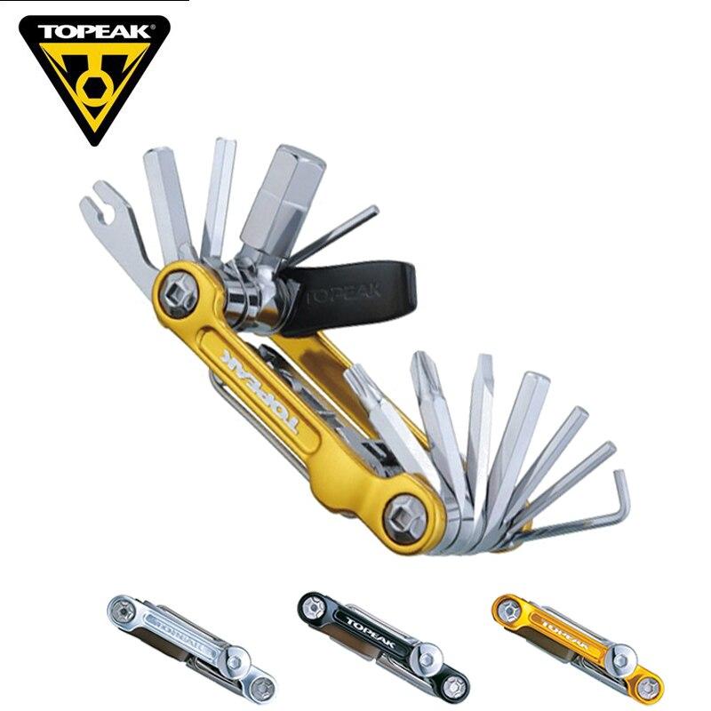 TOPEAK TT2536 Multi Vélo Réparation Outil Portable Vélo Mini Combinaison Tool Set Bike Démonter Kit Réparation de L'équipement