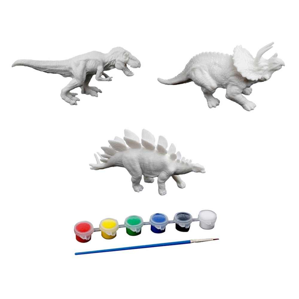 DIY Coloring Painting Animal Dinosaur Model Drawing Graffiti Kids Children Learning Art Educational Drawing Toys Gifts