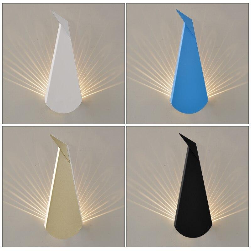 Post-moderne LED wohnzimmer wandleuchter neuheit gang beleuchtung ...
