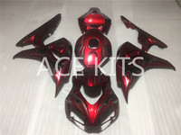 ACE KITS New ABS Injection Fairings Kit Fit For HONDA CBR1000RR 2006 2007 CBR1000RR 06 07 Red QQ61