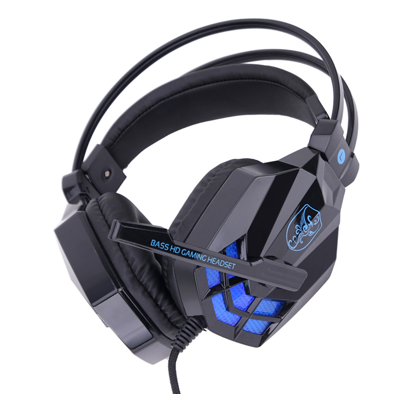 Surround Stereo Gaming Headset Headband LED Headphone USB 3.5mm with Mic for PC Mobile phone Tablet Laptop high quality S30