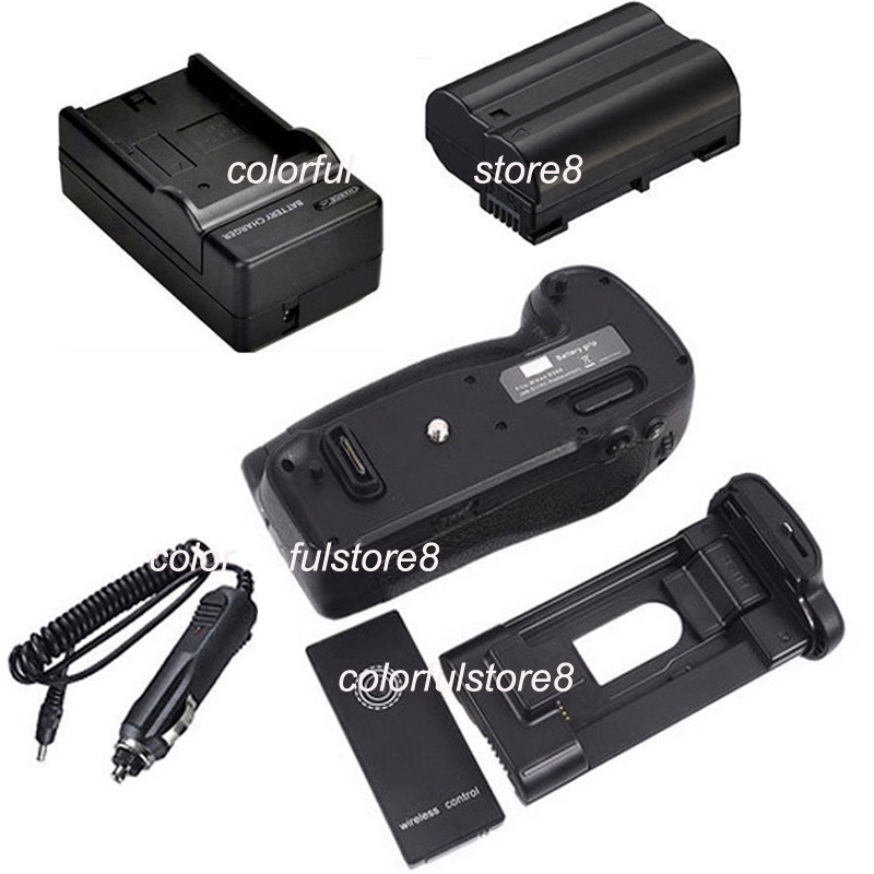 Battery Hand Handle Grip Holder Pack Vertical Shutter For Nikon D500 Camera as MB-D7 MBD17+IR Remote+ EN-EL15 ENEL15+Car Charger new arrival battery handle hand grip pack holder vertical power shutter for nikon d750 camera as mb d16 2 x en el15 car charger