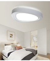 LED Heart-shaped Living Room Bedroom Study Aisle Ceiling Lighting Commercial Lighting Ceiling lamp 110-240V