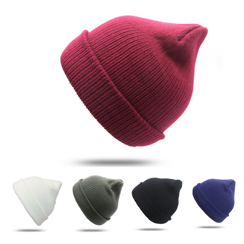 Winter Caps   Skullies     Beanies   Hat Unisex Warm Soft   Beanie   Knit Cap Winter Hats Knitted Touca Gorro Caps For Men Women Hats Bonnet