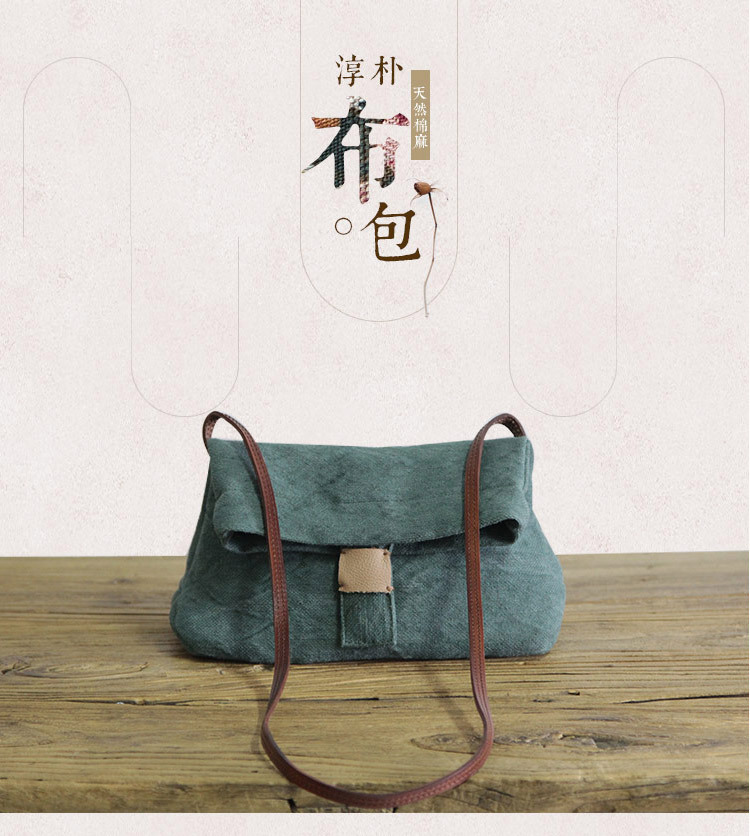 e8b34ebff84a HOT SALE] Linen Satchel Bag 2019 Casual Fabric Soft Shoulder Bag ...