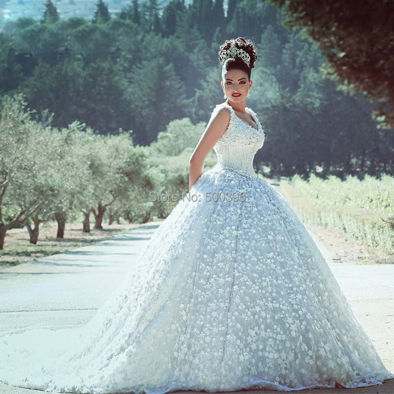 Most Beautiful Ball Gown Wedding Dresses
