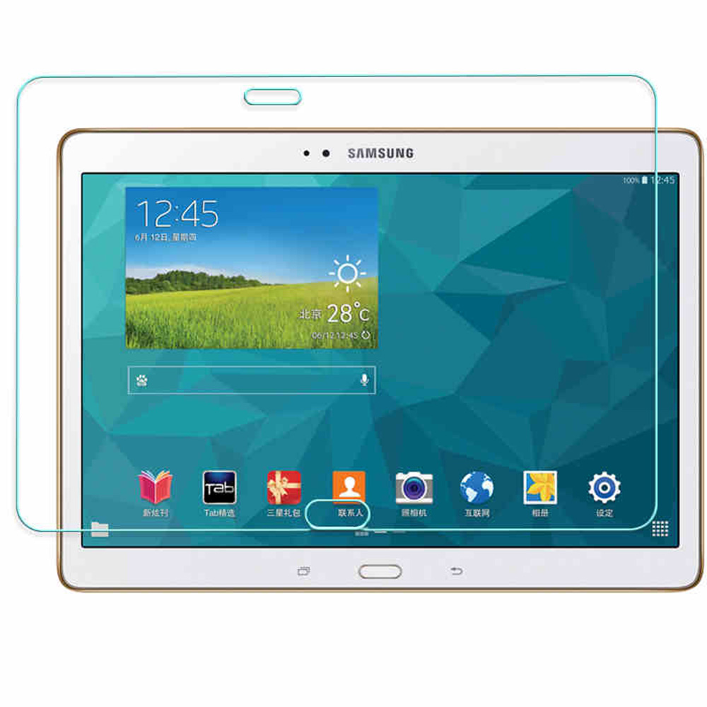 Прозрачный 0,3 мм 2.5D HD закаленное Стекло Экран протектор Защитная пленка для samsung GALAXY TAB S 10,5 T800 T805C Tablet