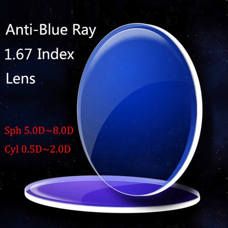 Kirka 1 67 Blue Light Blocking Computer Glasses Anti blue Rays Anti glare Eye Protection Reading