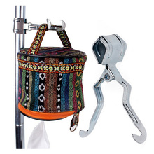 Outdoor Multifunction Cip Metal Hook Up Tent Bracket Accessories Camping Lamp Clothing Tableware 1PC