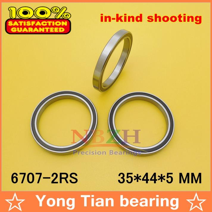 5pcs free shiping The high quality of ultra-thin deep groove ball bearings 6707-2RS 35*44*5 mm gcr15 6026 130x200x33mm high precision thin deep groove ball bearings abec 1 p0 1 pcs