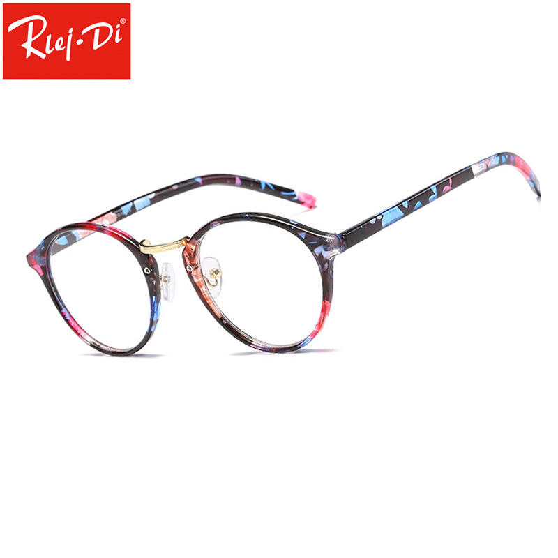 TT306 круглый равнине зеркало кадр ретро Для мужчин Для женщин прозрачные линзы очки Eyewears