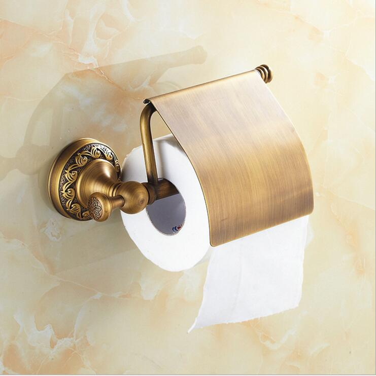 Xogolo antique copper toilet paper holder retro towel Creative toilet paper holder
