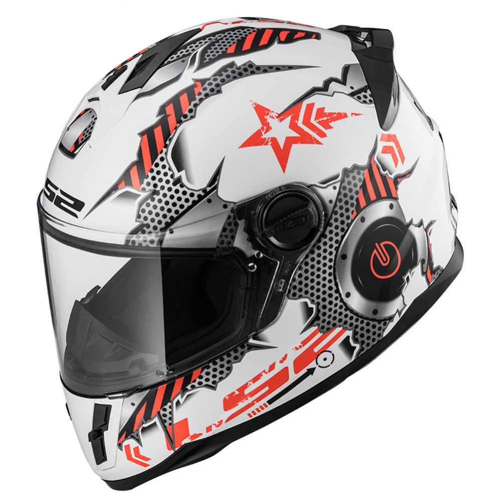 Ls2 Savane Ff392 Motorcycle Helmet Kids Youth Junior Casco Moto Capacetes De Motociclista Helmet Casque Moto Helm