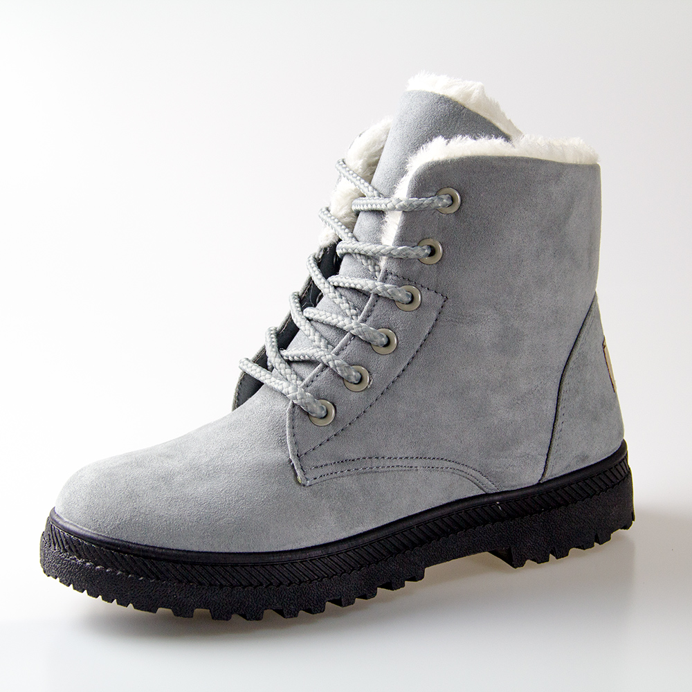 Women boots 2016 new snow boots winter women fashion ankle boots for women shoes winter heels