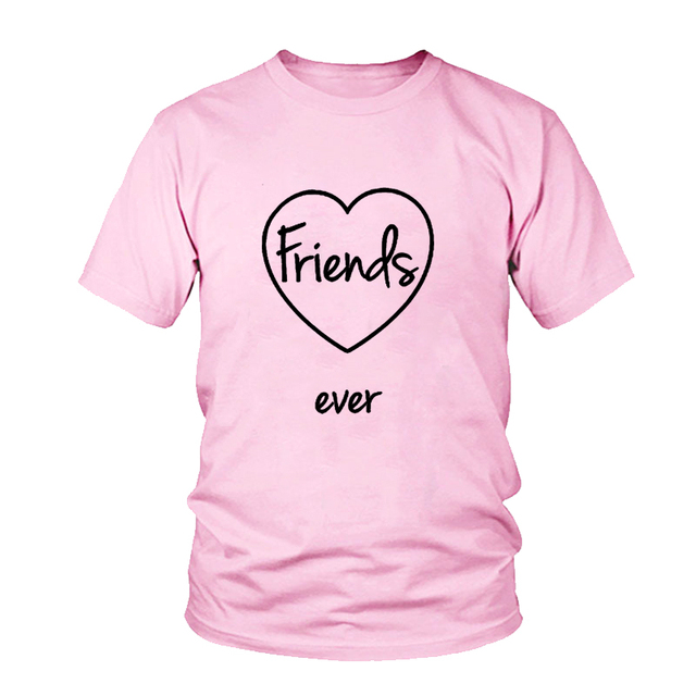 46c4405ed Αγορά Μπλούζες & μπλουζάκια | 2018 Best Friends Forever Funny Letter ...