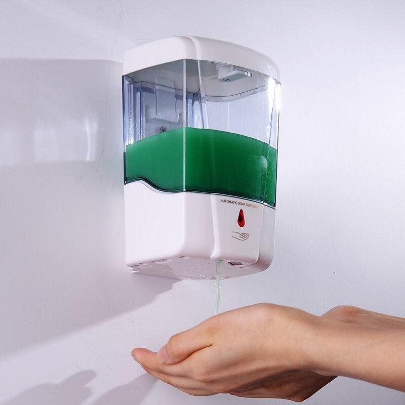 Distributeur automatique de savon liquide de boîte de bouteille de gel de douche d'induction de salle de bains pour le distributeur de savon
