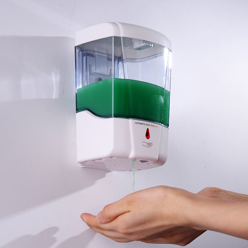 Bathroom automatic induction shower gel bottle box liquid for Liquid soap dispenser for bathroom