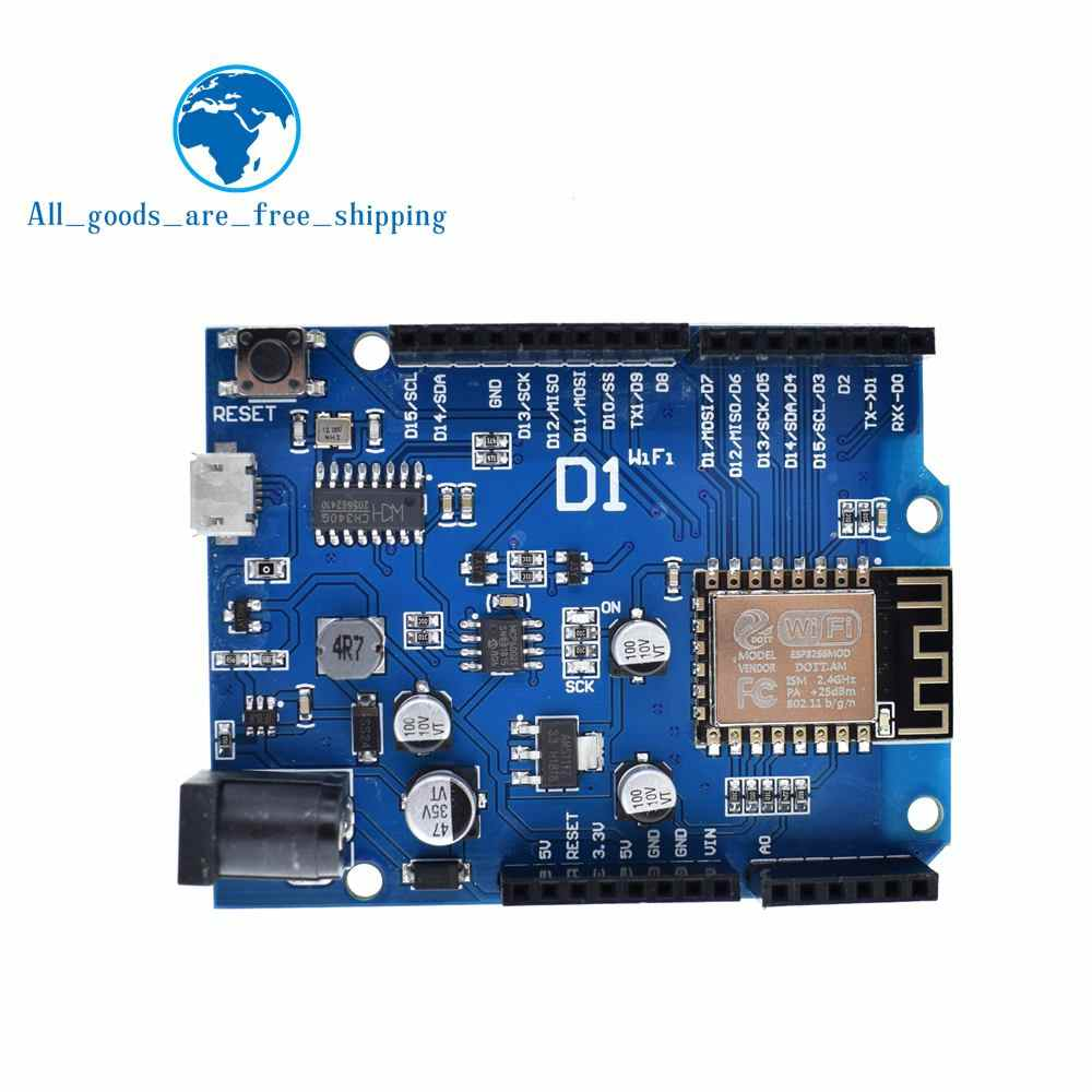 TZT Smart Electronics ESP-12F WeMos D1 WiFi uno based ESP8266 shield for arduino Compatible IDE