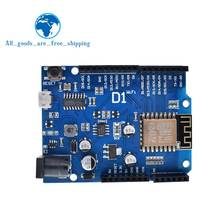 TZT Smart Electronics ESP-12F WeMos D1 WiFi uno based ESP8266 shield for arduino Compatible IDE(China)