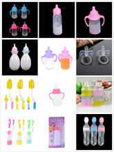 1PC Strange Magic Prop Milk Bottle Magic Baby Reborn Dolls Feeding Bottle Toy Liquid Disappearing Milk Children Gift Toy Access(China)