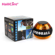 Healthy Care Wrist Gyroscope PowerBall Gyro Power Ball Strength Wrist Arm Exercise Strengthener Force Ball  Speed  12000 RPMS