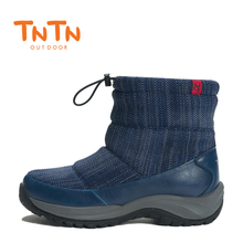 TNTN 2018 Waterproof Womens Outdoor Winter Boots Fleece Snow Boots Women Breathable Hiking Shoes Walking Shoes For Women Warm merrto women waterproof walking shoes sneakers winter breathable walking shoes for women with inner fleece high quality boost