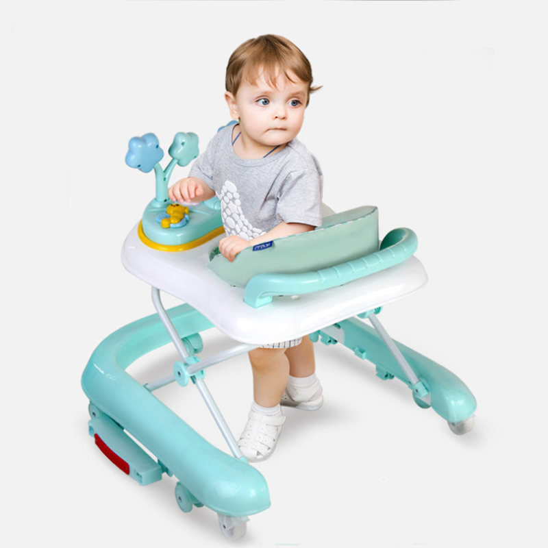 Baby Walker Music Walker Baby Walkers Baby Walker Stand 6-24 Months Multifunction Gift Variable Rocking Horse