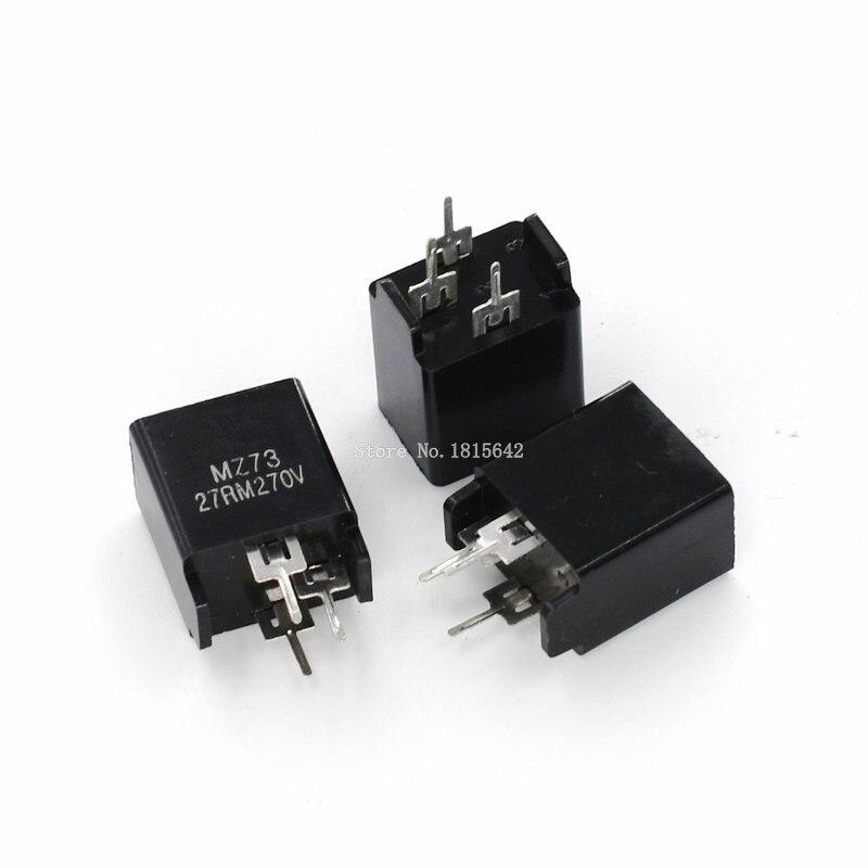 5PCS/LOT MZ73B-27ROM 27RM 270V Degaussing Resistor MZ73 3Pins Demagnetizing Resistors Resistance