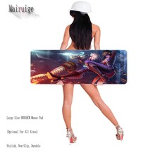 DIY 900*400MM Professional Speed Rubber Notbook Computer Mouse Pad Gaming Pad Mouse Laptop Mousepad for LOL Gamer pad