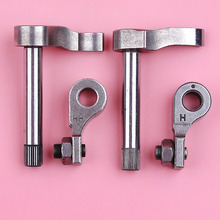 Intake Exhaust Valve Lifter Rocker Arm Set For Honda GX35 GX35NT HHT35S GX 35 Trimmer Brush Cutter Lawn Mower Engine Motor Part jiangdong jd495 for tractor like jinma luzhong the set of intake and exhaust valve group as picture showed