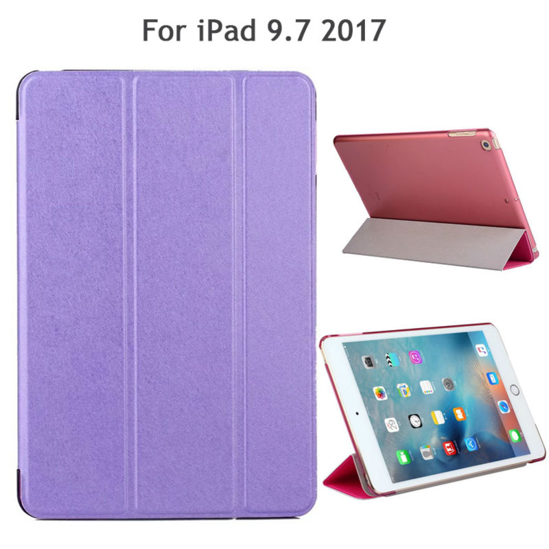 For New iPad 2017 9 7 inch PU Leather Case Cover Slim Shockproof Protective Stand For
