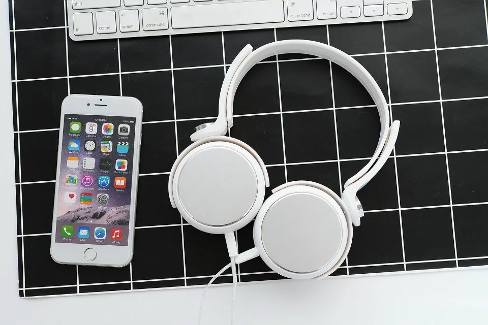 TYAYA Lovely Wired Headphones High Quality with Microphone Foldable Gaming Music Headset Gifts For Kids Fone De ouvido a-045