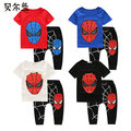 Spiderman Children Boys Clothing set Baby Boy Spider man Sports Suits 3-11 Years Kids 2pcs Sets  Summer  Clothes Tracksuits