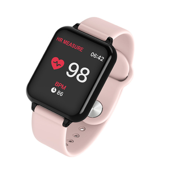 bfb53fb4c4f 1.3 Inches Color Screen Waterproof Women Men Smart Watches Standby 25 Days  Heart Rate Blood Pressure Monitoring relogio feminino