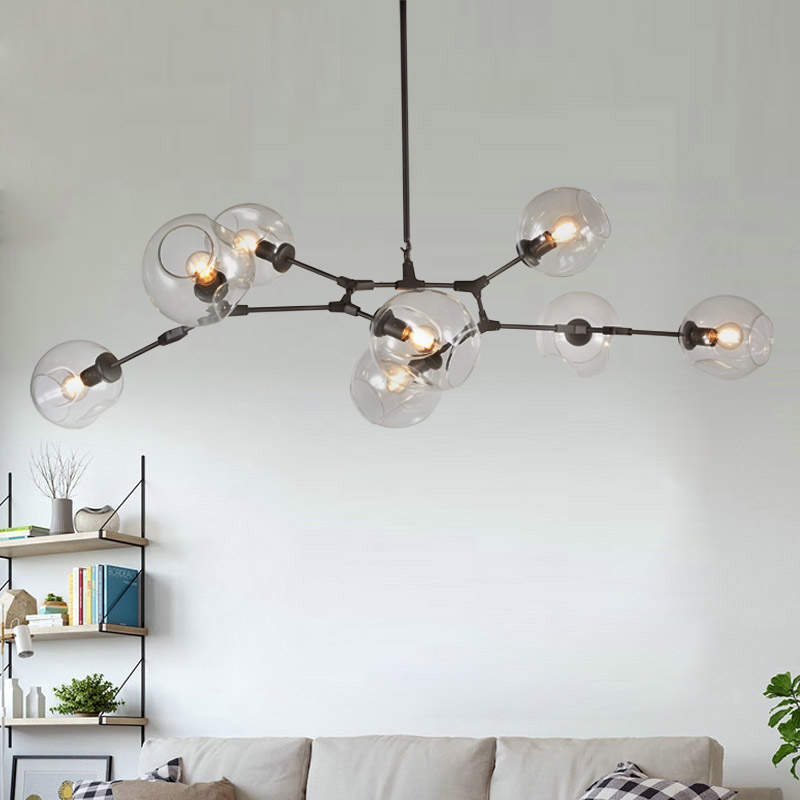 pendant chandelier with light ceiling fixture crystal bedroom lighting room for living lights modern