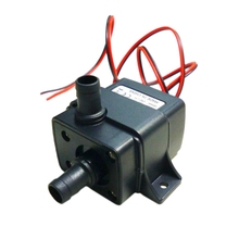 Ultra-Quiet Dc 12V 4.2W 240L/H Flow Rate Waterproof Brushless Pump Mini Submersible Water Pump jt 1000c 1500 2000l h 12v 24v dc brushless booster pump variable speed pump large flow water pump free shipping