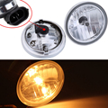 "4 1/2"" Passing Lamp Driving Spot Fog Light For Harley Sportster 883 1200 Dyna"