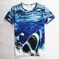 Grande 3D impreso T-shirt adolescente niños niñas baloncesto Anime botellas de cerveza patrón tiburones camisetas camisa de mangas cortas tyh65591