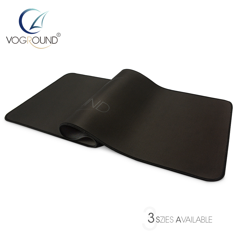 VOGROUND Logo Natural Rubber Locking Edge Optional Mouse Pad Large Size table Desk Grande Gaming Mousepad Mat for LOL cs dota 2