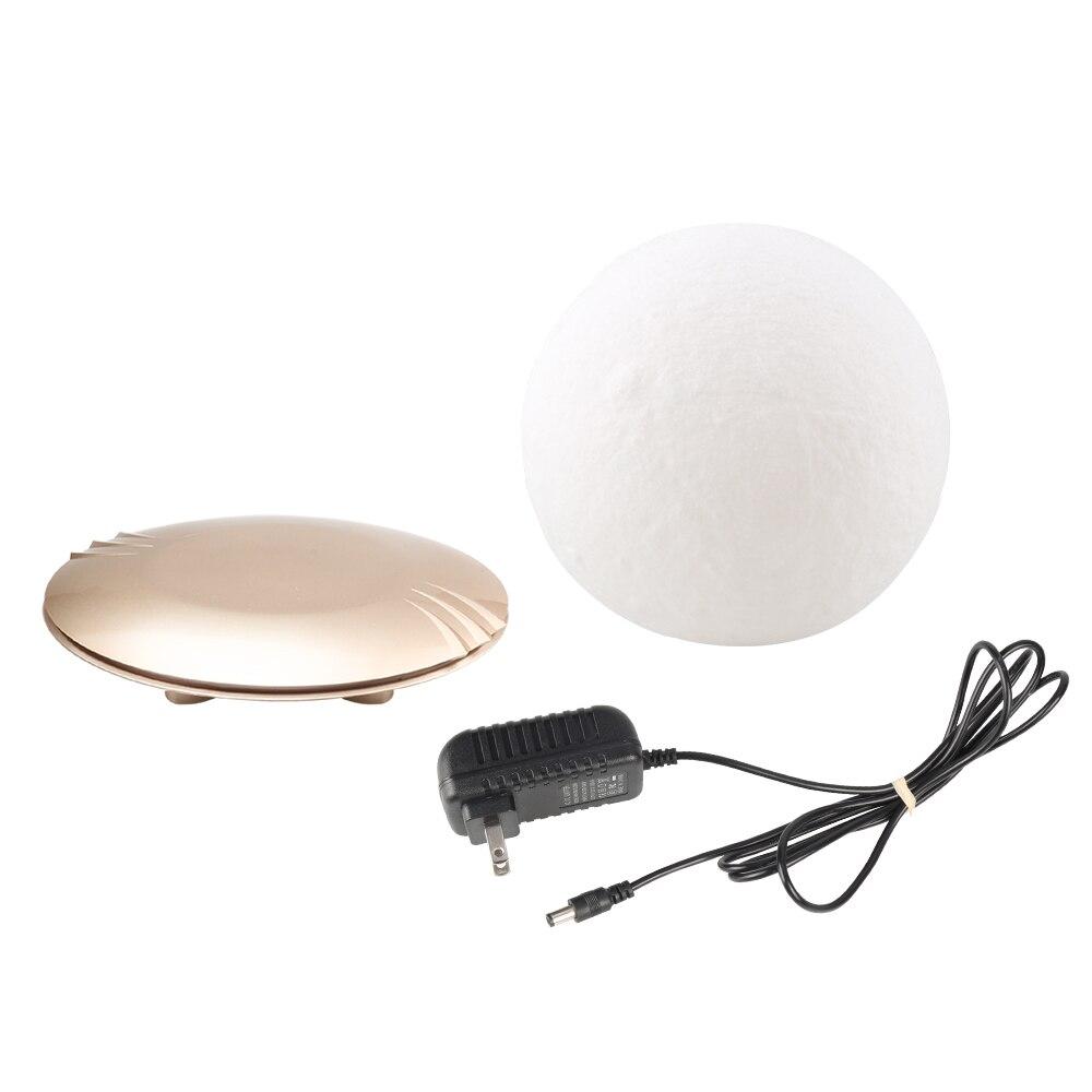 Lámpara de Luna impresa en 3D levitando 7 colores que cambian la luz LED de la noche para la decoración de Navidad del hogar Envío Directo # - 6