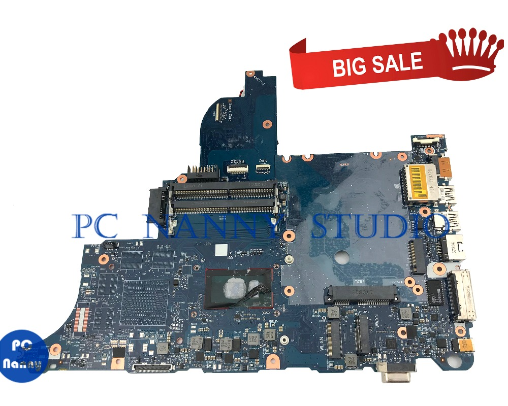 PC NANNY FOR HP Elitebook 640 <font><b>650</b></font> G3 Laptop motherboard 6050A2860101-MB-A01 <font><b>i5</b></font>-7200U SR342 tested image